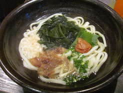 Udon in Tokyo.