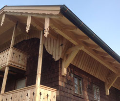 Holzbalkon Holzbau Laireiter
