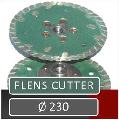 prodito flens cutter diameter 230