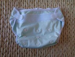 réglage maximal des scratchs ou velcros pour une culotte de protection en PUL pour couches lavables