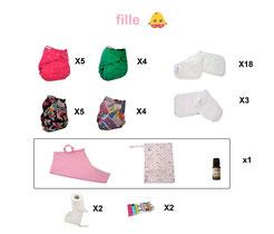 kit couches lavables économique, kit couches lavables pas cher