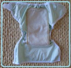 couche lavable TE2: culotte de protection en PUL et insert
