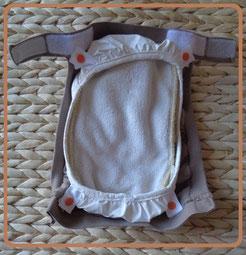 couche lavable TE3: culotte de protection en PUL avec hamac et insert
