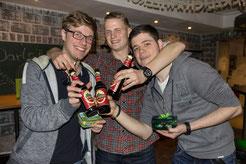Gewinner des Dart Turniers 2017 (St. Patrick's Day)