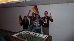 Gewinner des Kicker Turniers 2014