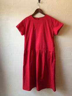 赤いワンピース 9800