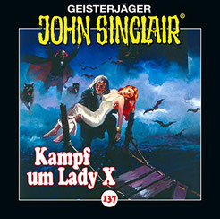 CD Cover John Sinclair Kampf um Lady X