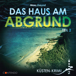CD Cover Küstenkrimi - Haus am Abgrund Teil 2