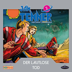 CD Cover Jan Tenner - Der lautlose Tod