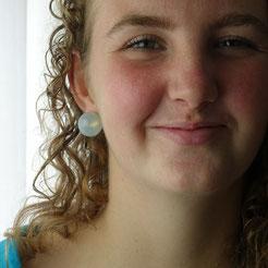 Marian Sturkenboom earrings rubber.