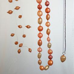 bracelet redgold pigment