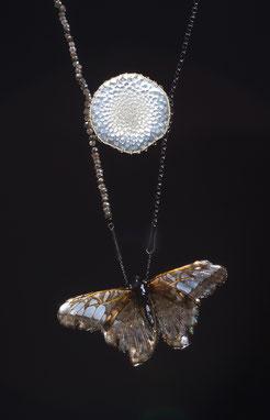 Marian Sturkenboom, butterfly, vlinder, gedenksieraad, herinneringssieraad