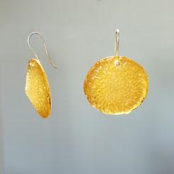 Marian Sturkenboom resin earrings