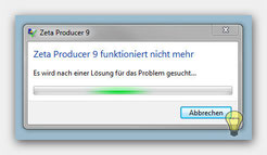 Zeta Producer Fehler