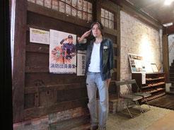 消防団募集ポスター!モデル:ヨシ兄、カメラマン:ウッチーで作り直しませんかw ( ´艸`)ムププ