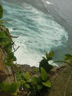 こんな荒れ狂う海が見えましたー(T_T)