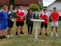 Sieger der 4. Ebsdorfergrund Tennis Open 2019