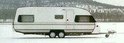 Solifer Wohnwagen 80er Jahre