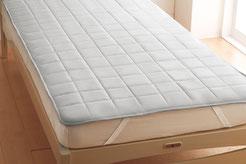 高品質な羊毛100%のベッドパッド
