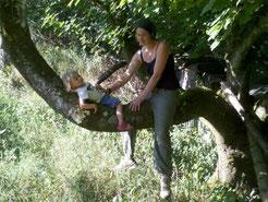 Sabrina Ehnert erweitert mit ihrer Tochter Mia das Team der NAJU-Kids