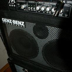 GENZ BENZ M200 BASS AMP