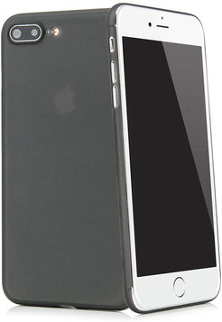 Tenuis iPhone 7/8 Plus Hülle Ultra dünn in Schwarz