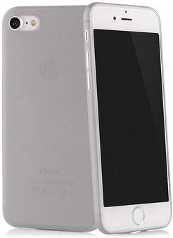 Tenuis iPhone 7/8 Hülle Ultra dünn in Grau