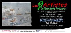 Exposition collective Artistes Indépendants Foreziens