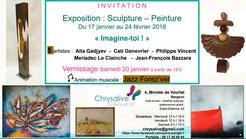 Exposition collective janvier-février 2018