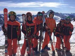 Trainingslager Skiteam SV DJK Heufeld Herbst 2017 im Stubai