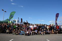Photo de groupe de la première édition en 2012