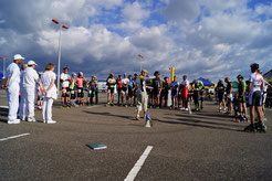 Briefing des coureurs