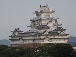 男山から見る姫路城