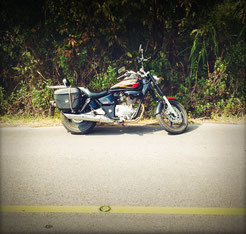 HONDA PHANTOM IM DOI PHUKHA NATIONAL PARC