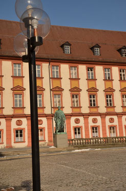 Teil des Alten Schlosses - jetzt Finanzamt