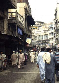 Straßenszenen in Peshawar (Pakistan)