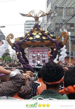 かなさん: 三社祭