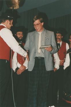 Gaudenz Tscharner, erster Chorleiter