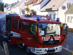 Feuerwehrfest in Streitau bei Gefrees