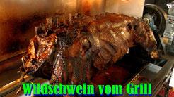 Wildschwein vom Grill 2014