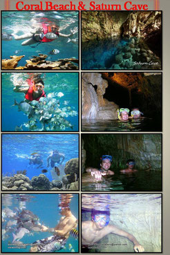 Coral beach and Saturn Cave vardero cuba