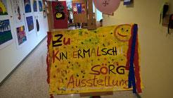 Malschule Ausstellung