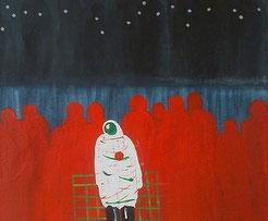 peinture contemporaine sur toile