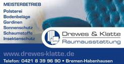 Drewes und Klatte Raumausstattung - Werbegemeinschaft Habenhausen-Arsten
