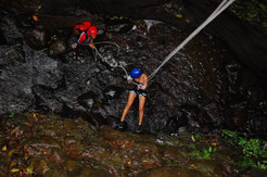 Canyoning in Arenal Volcano