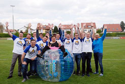Bubble Soccer Junggesellenabschied Frankfurt Bumper Ball Fußball Football Bubble Bälle Soccerhalle