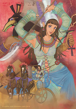 聖柄さぎり画像 エジプト神話 アースティルティト セト