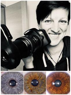 Professionelle Iridologie - Augenanalyse - Augendiagnostik mit Spezialkamera