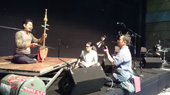 Rehearsing with Kamrul Hussin in Kuala Lumupur