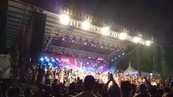 Grand finale of the Rainforest World Music Festival, Kuching